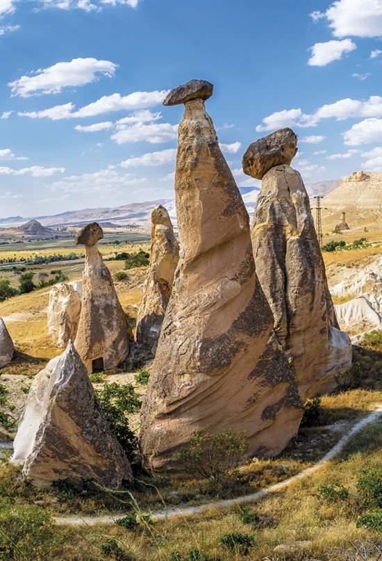 Capadocia: una fantasía de piedra