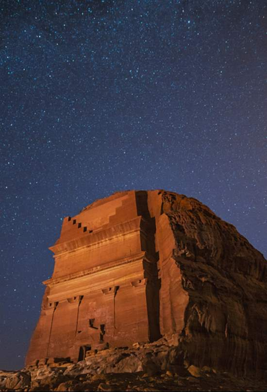 Hegra, la 'Petra de Arabia Saudí', abre al público por primera vez en 2.000 años