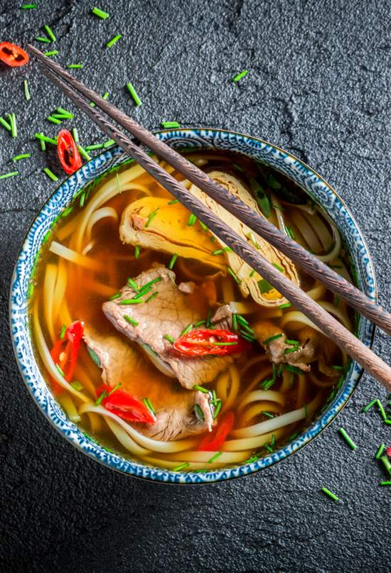 Cinco sopas para sorberse China y vencer al frío