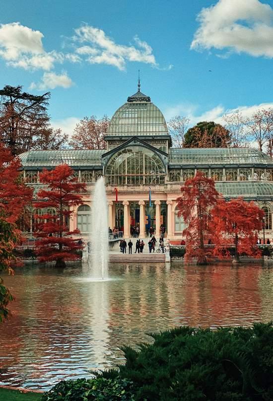 Europa en 11 parques urbanos monumentales