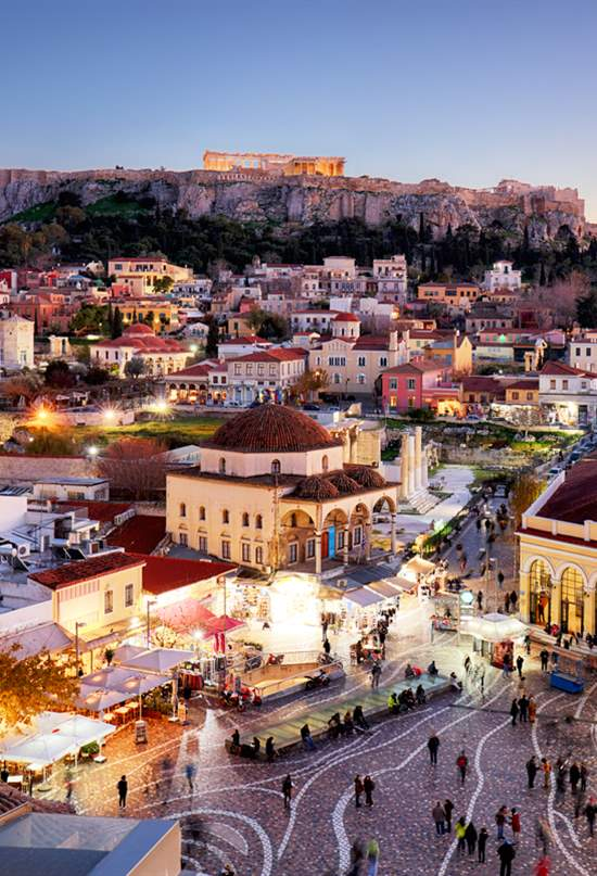 Manual para contemplar la Acrópolis de Atenas