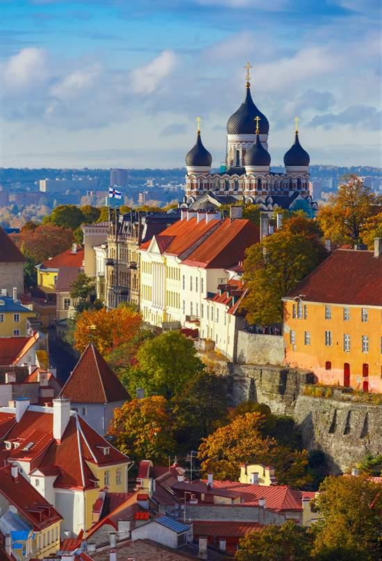 Riga, Vilna y Tallin para viajeros contemporáneos