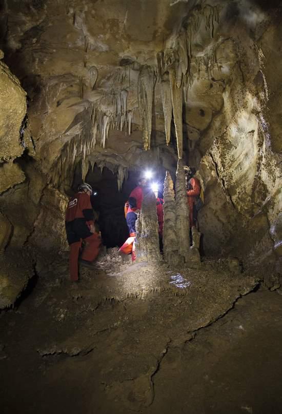 La cueva de Asturias donde iniciarse a la espeleología y descubrir un fósil de era glaciar